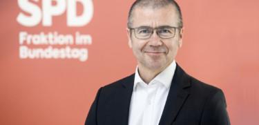 Frank Junge auf der Fraktionsebene / SPD-Fraktion